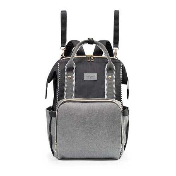 Mugursoma (ratiņu soma) OSLO STYLE black 1424/01, BabyOno