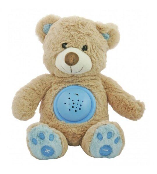 Projektors ar mūziku, BEAR HADI blue, BabyMix, 37213