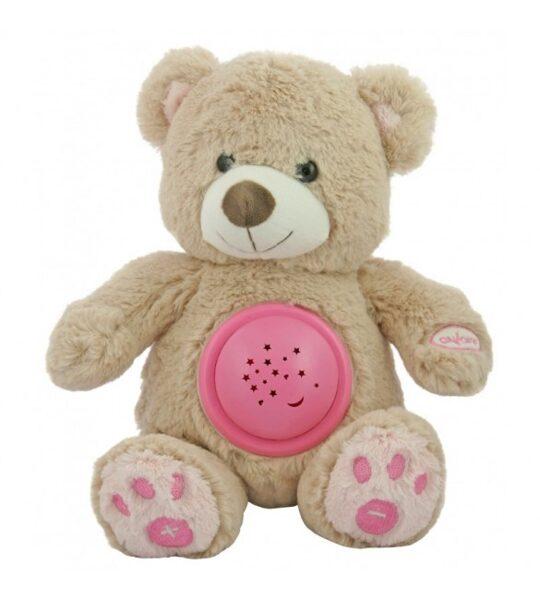 Projektors ar mūziku, BEAR HADI, pink, BabyMix, 37214