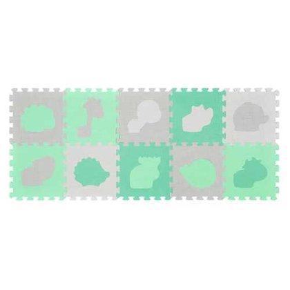 Paklājiņš-puzzle ANIMALS (Pastel) - 10 plāksnes, 396/01 BabyOno