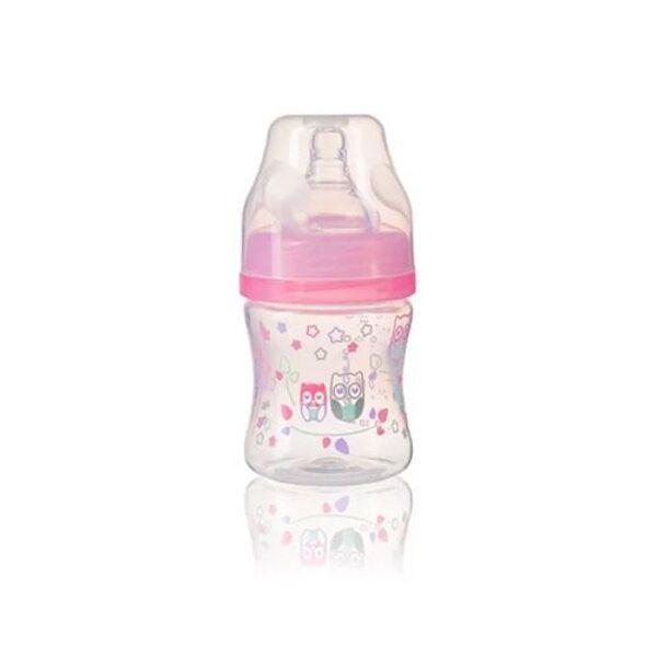 Pudele 120ml, 402/02, rozā, Babyono