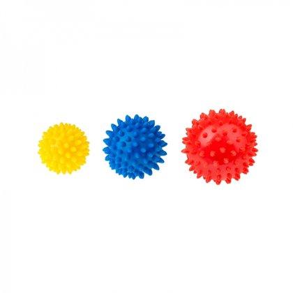 Masāžas bumbiņas 3 gab., art.406, Tullo