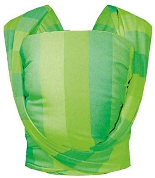 Lakatu slings Be Close Eco N17, gaiši zaļas svītras, Zaffiro
