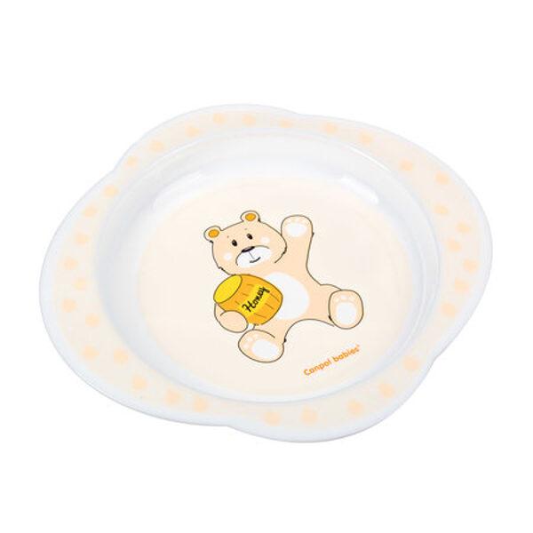 Šķīvis, dažādas krāsas, 56/008, Canpol babies