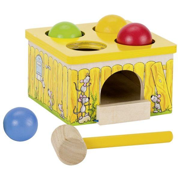 Attīstoša rotaļlieta KAĶIS UN PELE, 58629