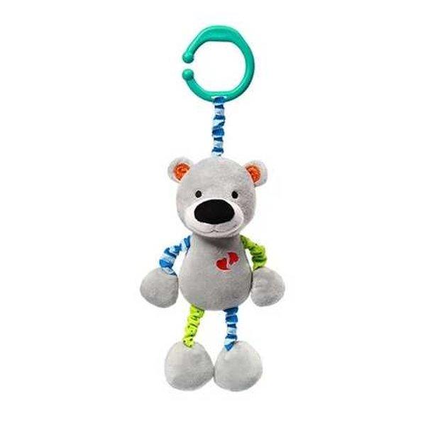 Mīksta rotaļlieta ar vibrāciju BEAR BASIL, 618, BabyOno