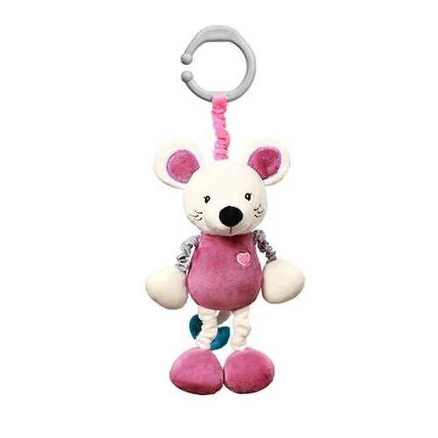Mīksta rotaļlieta ar vibrāciju MOUSE SYBIL, 629, BabyOno