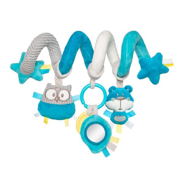 Rotaļlieta - spirāle PASTEL FRIENDS, 68/064, Canpol Baby