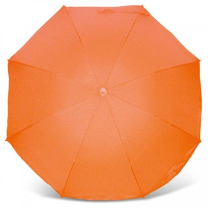 Ratiņu saulessargs, oranžs, Heitmannfelle
