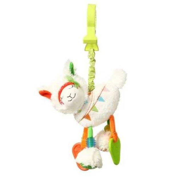 Mīksta rotaļlieta ar vibrāciju LLAMA JANE, 715 BabyOno