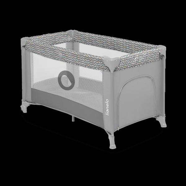 Saliekamā gulta-manēža Lionelo STEFI, Grey concrete