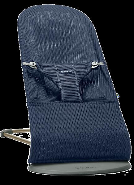 Babybjorn šūpuļkrēsliņš Bliss, navy blue, mesh, 006003