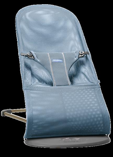 Babybjorn šūpuļkrēsliņš Bliss, slate blue, mesh, 006020