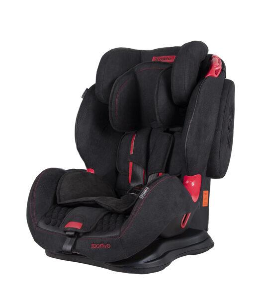 Autosēdeklis Sportivo 9-36 kg, black