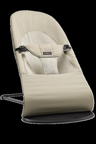 Babybjorn šūpuļkrēsliņš Balance soft, khaki/beige cotton 005026