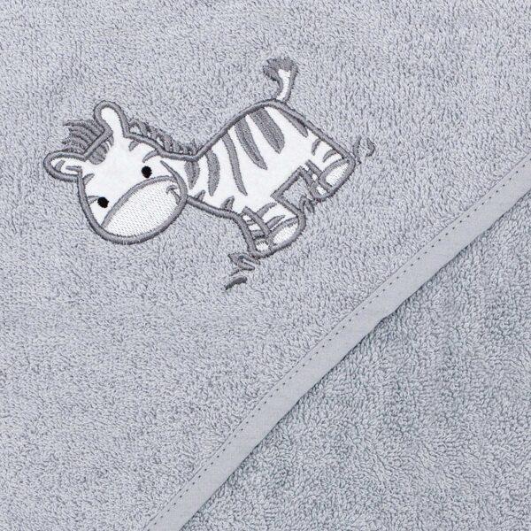 Dvielis ar kapuci, Zebra gaiši pelēka, Ceba baby