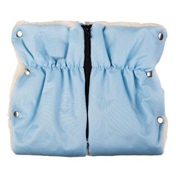 divdaļīgi ratu cimdi ar vilnas oderi, Womar, gaiši zili