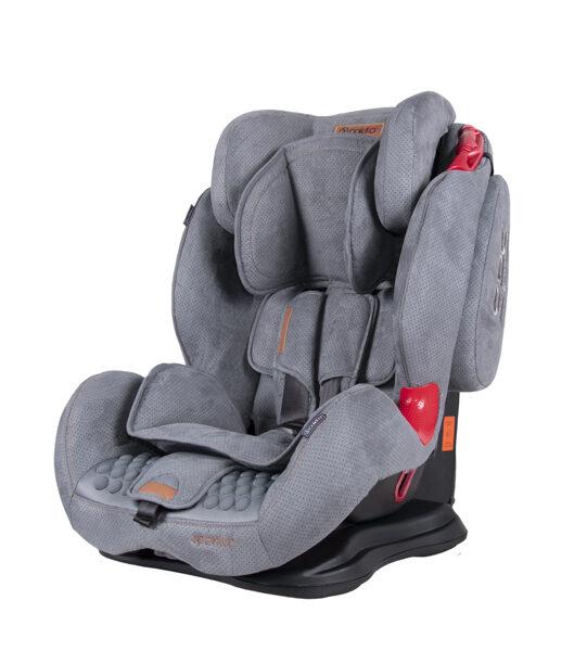 Autosēdeklis Sportivo 9-36 kg, grey