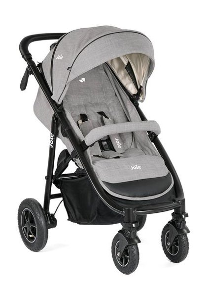 Pastaigu rati Joie Mytrax 4 air, grey flannel