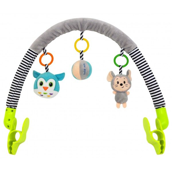 Rotaļlietu loks ratiņiem, autosēdeklim 8544-94, Baby mix