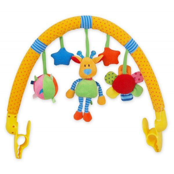 Rotaļlietu loks ratiņiem, autosēdeklim, 9027-94A, Baby Mix