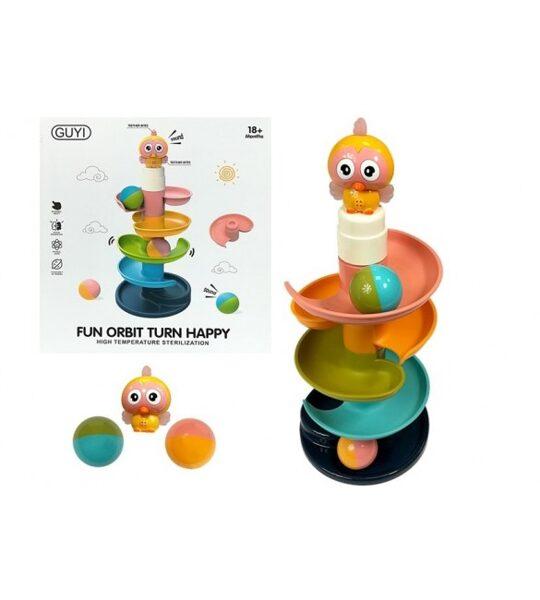Krāsains kalniņš ar lodītēm, 75126, Lean toys