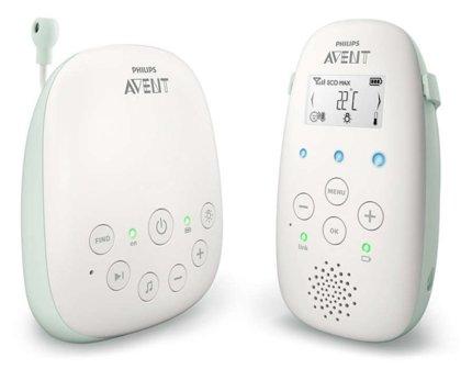 Philips Avent DECT mazuļa uzraudzības ierīce, SCD711/52