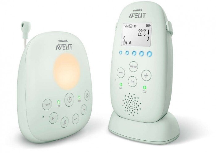Philips Avent DECT mazuļa uzraudzības ierīce, SCD721/26