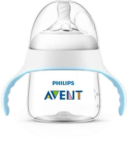 Philips Avent Natural mācību krūzīte 150 ml, vidējas plūsmas knupītis 4m+ , SCF262/06