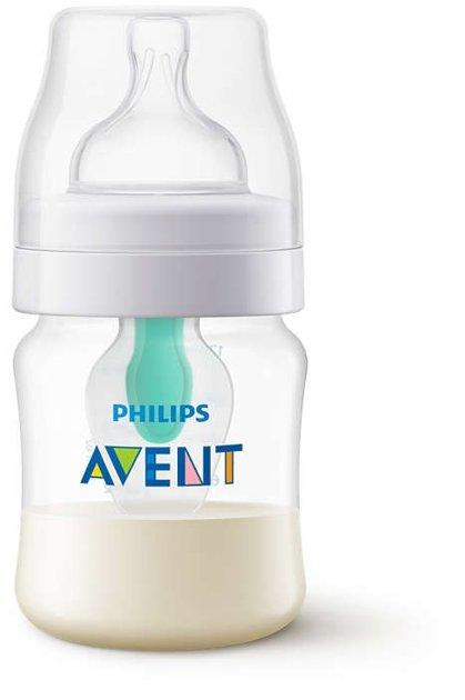 Philips Avent Pretkoliku pudelīte ar AirFree vārstu 125 ml, 0M+ , SCF810/14