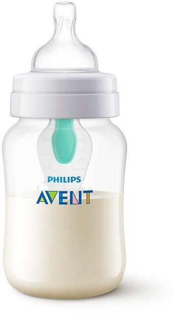 Philips Avent Pretkoliku pudelītes ar AirFree vārstu 260 ml, 1M+ , SCF813/14
