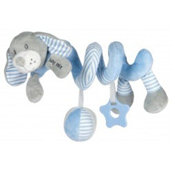 Rotaļlieta- spirāle Sunītis, gaiši zils, 19391BD, Babymix